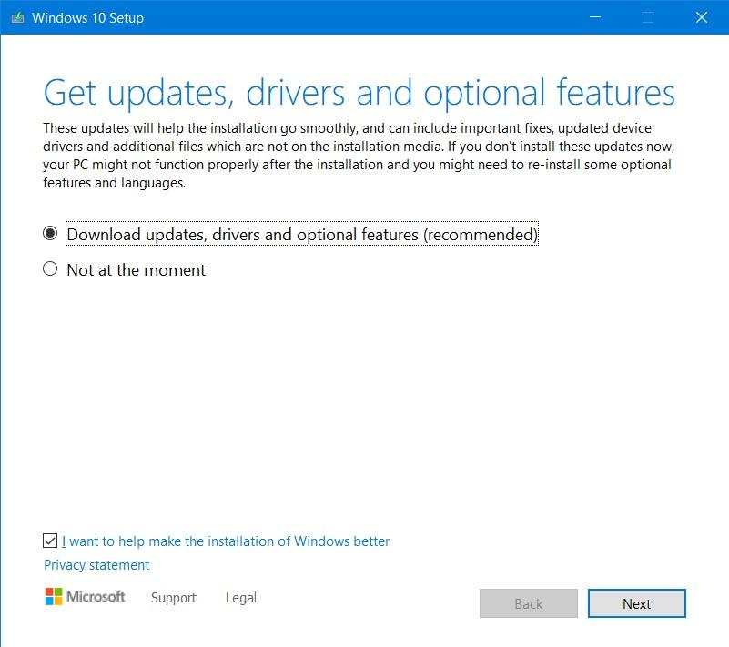 Repair-install-update
