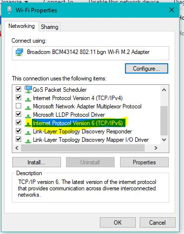 How to Enable IPv6 in Windows 10 1809 - Your Windows Guide