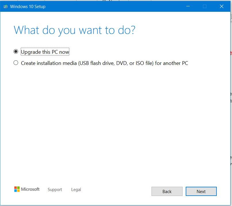 Install Windows 10 21h1 offline