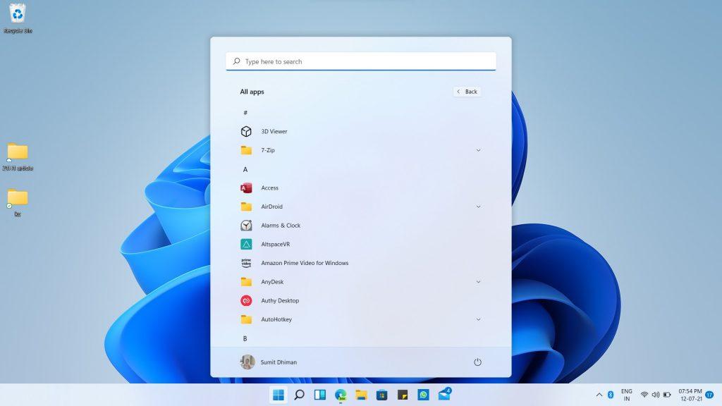 Windows-11-desktop