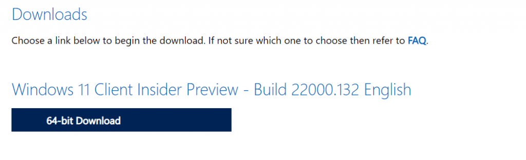 Windows Insider Preview ISO file